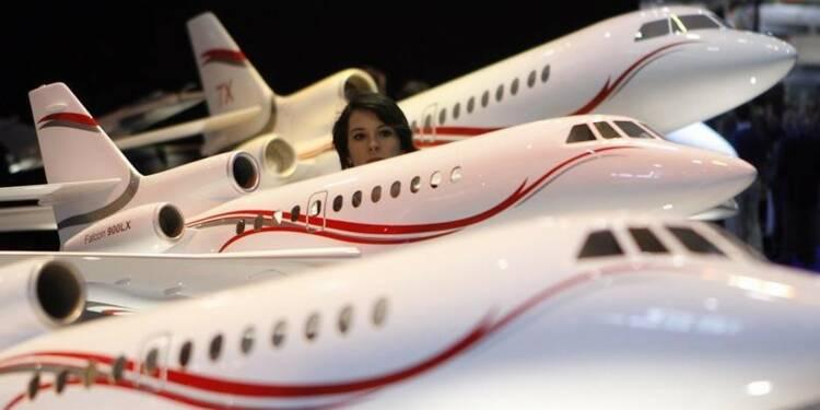 Prises de commandes en hausse sur 9 mois pour Dassault Aviation
