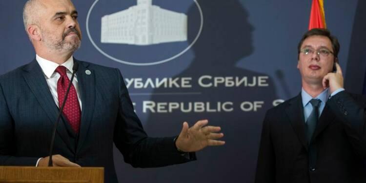 Tension diplomatique entre la Serbie et l'Albanie sur le Kosovo