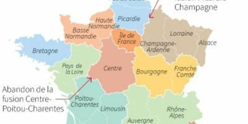 La nouvelle carte des régions ne passe toujours pas