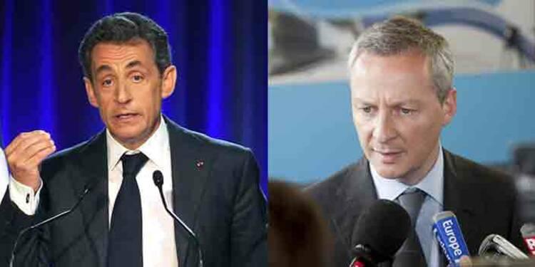Bruno Le Maire – Nicolas Sarkozy : les chiffres de leur campagne low-cost pour la présidence de l'UMP