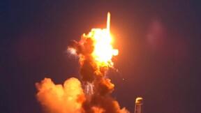 Une fusée Antares explose peu après son décollage