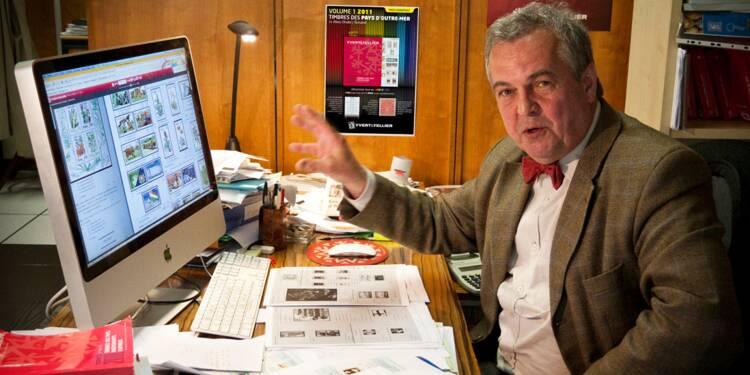 Christophe Yvert met en ligne le plus grand catalogue de timbres du monde