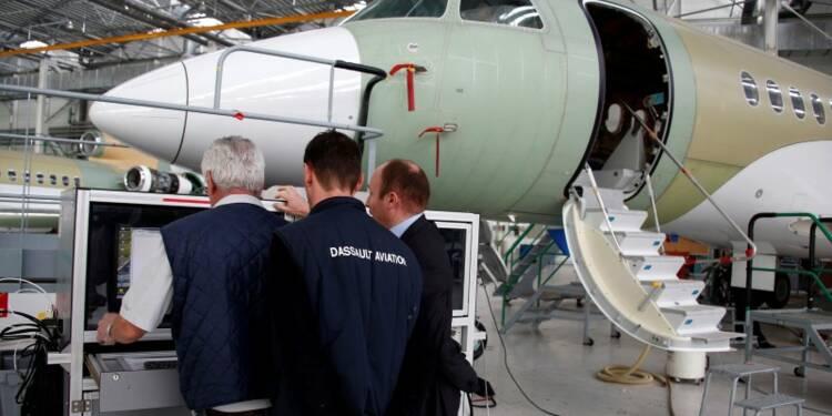 Hausse de 17% du CA de Dassault Aviation en 2013