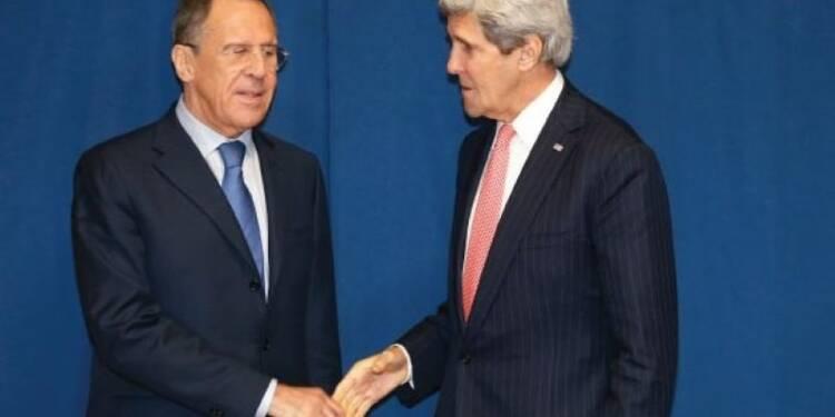 Réunion Kerry-Lavrov sur l'Ukraine dimanche à Paris