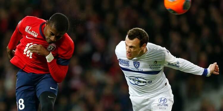 Ligue 1: Lille s'accroche au PSG et à Monaco