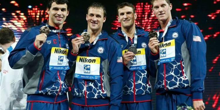 Natation: les Français en finale du relais 4x200 mètres