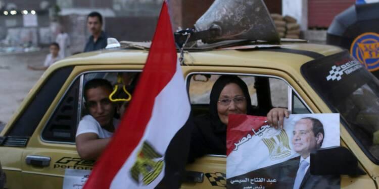 Le maréchal Sissi net vainqueur de la présidentielle égyptienne
