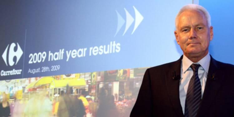 Le nouveau patron de Carrefour change les têtes de gondole à l'étranger