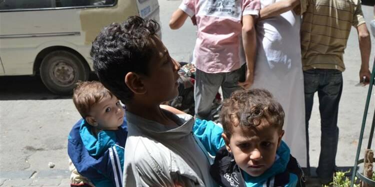 Attaque chimique et pilonnages vers Damas auraient fait 494 tués