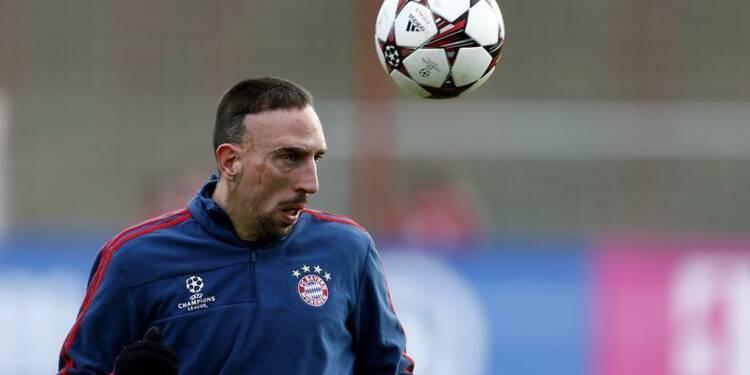 Football: Franck Ribéry élu joueur français de l'année
