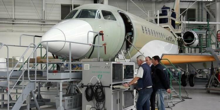 """Dassault lance le """"8X"""", son 2e nouveau jet depuis l'automne"""
