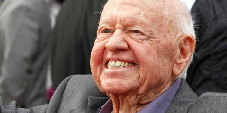 Décès du comédien américain Mickey Rooney