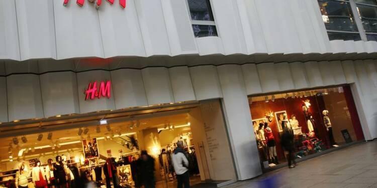 Hausse de 10% des ventes totales de H&M en décembre