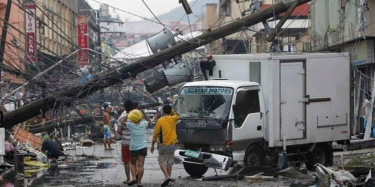 Tacloban, ville dévastée par le typhon aux Philippines