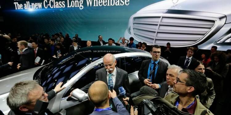 Daimler prévoit une croissance à deux chiffres en Chine