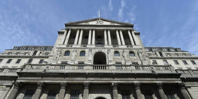 La Banque d'Angleterre ne modifie pas sa politique monétaire