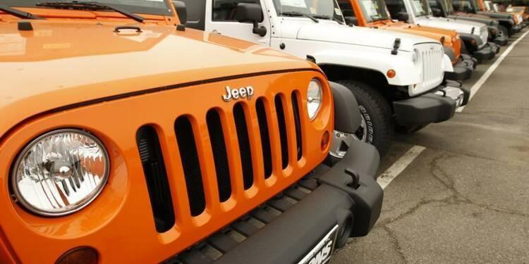 Chrysler rappelle 469.000 véhicules en atelier