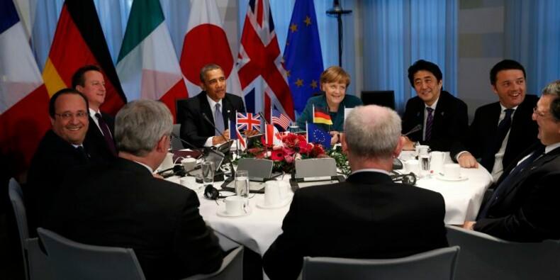 Les dirigeants du G7 proposent un sommet sans la Russie