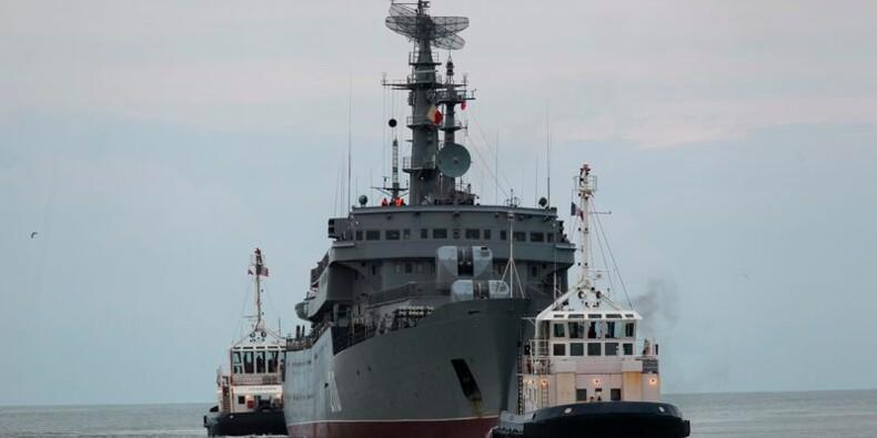 400 marins russes à Saint-Nazaire pour une formation au Mistral