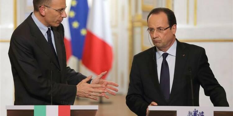 Hollande et Letta s'allient pour le conseil européen de juin