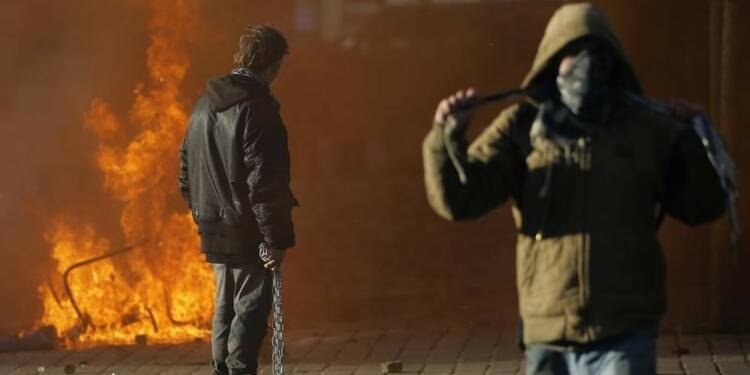Arrestations à Nantes après la manifestation contre l'aéroport