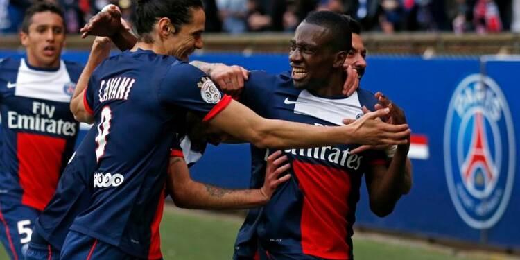 Ligue 1: le PSG bat Evian et se rapproche un peu plus du titre