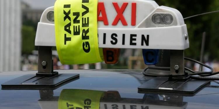 Des manifestations de taxis perturbent le trafic