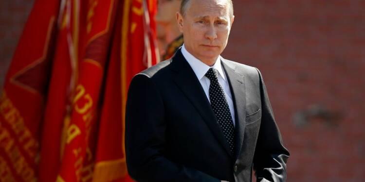 Vladimir Poutine en Normandie pour commémorer le débarquement
