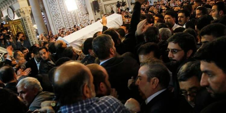 L'imam de la mosquée des Omeyyades enterré près de Saladin