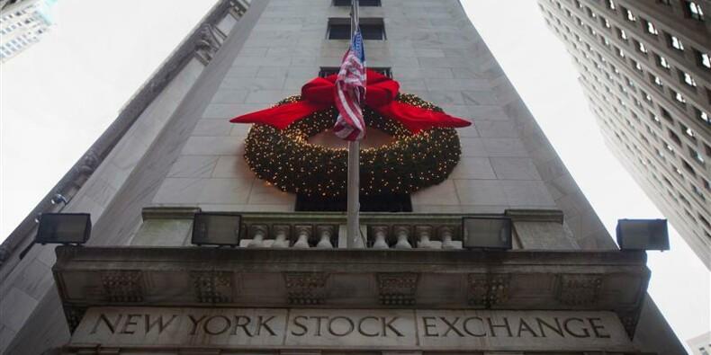 Wall Street démarre l'année sur une petite correction