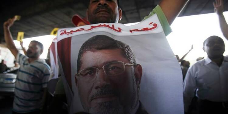 Des milliers de pro-Morsi manifestent à nouveau en Egypte