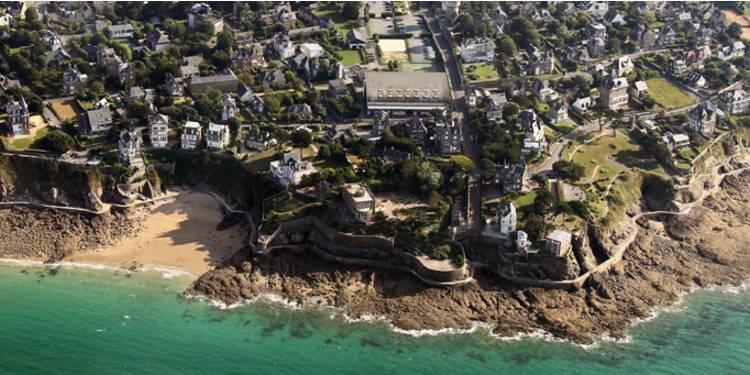 Bretagne-Vendée : net repli de la cote depuis l'été 2012, y compris pour les résidences du front de mer