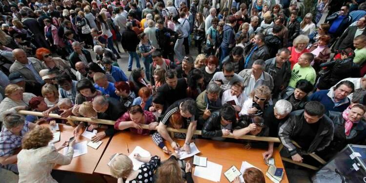Les séparatistes de l'est de l'Ukraine crient victoire