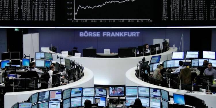 Les Bourses européennes ouvrent en hausse après le PIB chinois