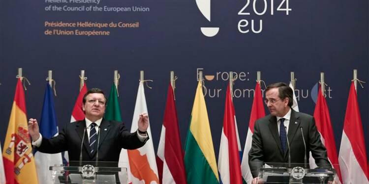 """La Grèce, """"en progrès"""", prend la présidence tournante de l'Union européenne"""