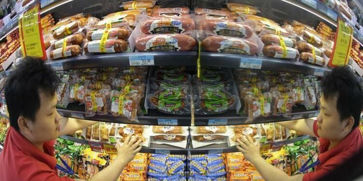 Taux d'inflation en hausse à 2,7% en Chine au mois de juin