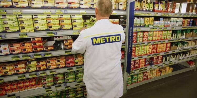 Metro livre un chiffre d'affaires trimestriel en baisse de 3,3%