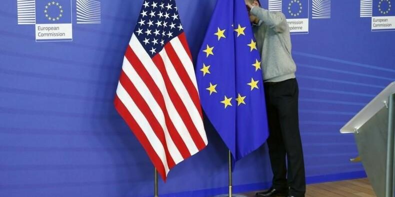 Angela Merkel plaide la cause du partenariat commercial UE-USA