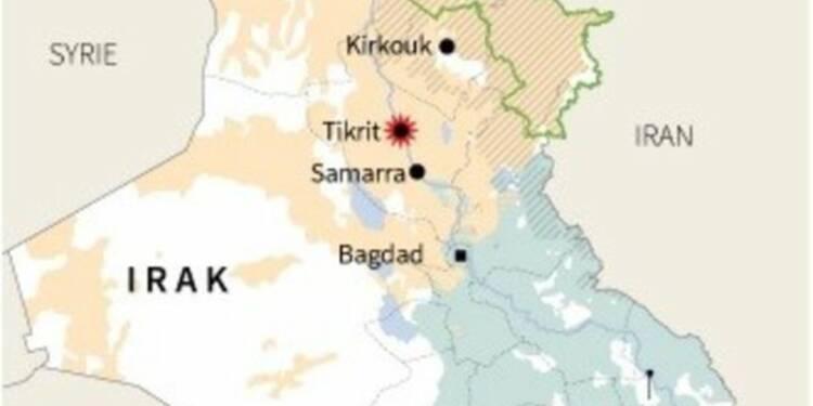 Des hélicoptères irakiens bombardent Tikrit