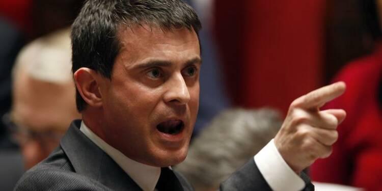 Manuel Valls chute de 12 points dans le baromètre OpinionWay