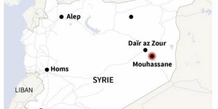 L'aviation syrienne bombarde des villes près de l'Irak, 16 morts