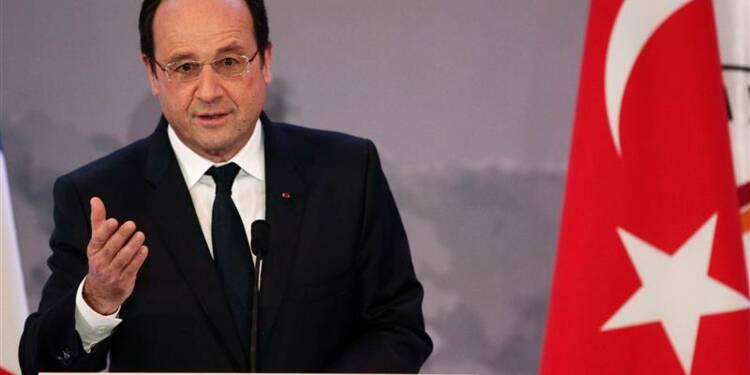 L'opération séduction de Hollande à Ankara est aussi économique