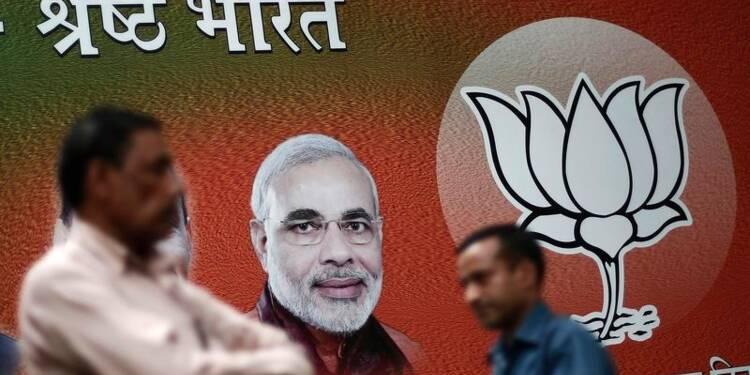 Les nationalistes hindous l'emporteraient aux élections en Inde