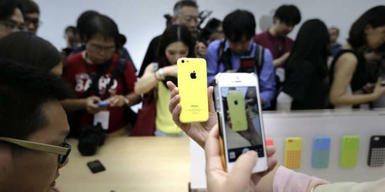 En Chine, l'iPhone 5C d'Apple est jugé encore trop cher