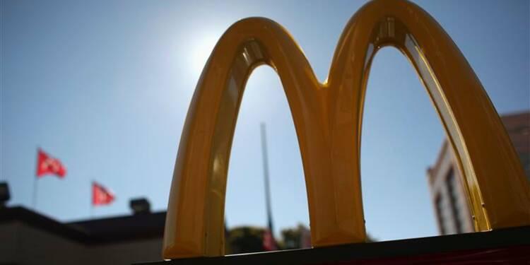 Baisse plus forte que prévu des ventes de McDonald's en janvier