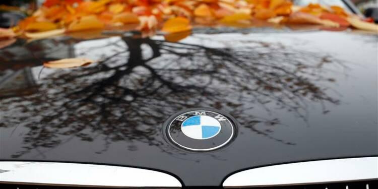 Le bénéfice trimestriel de BMW supérieur aux attentes