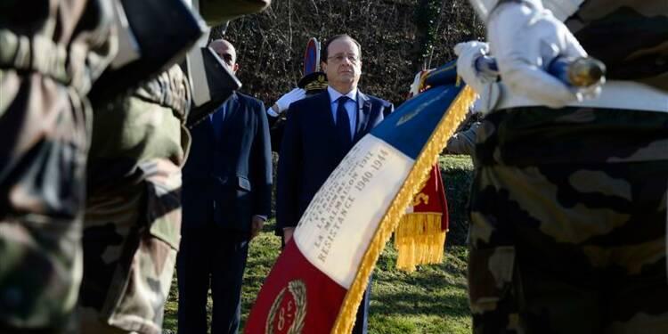 """Hollande fait entrer au Panthéon """"l'esprit de Résistance"""""""