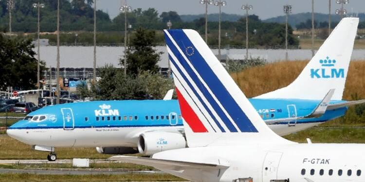 Le trafic passagers d'Air France-KLM en hausse de 2,5% en mai