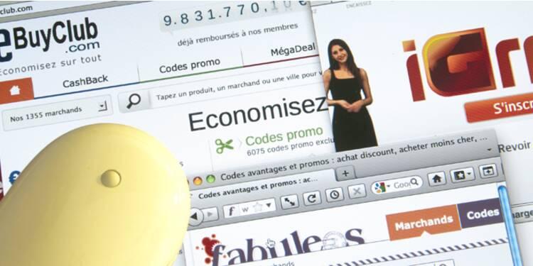 Avec le cashback, vos achats sur le Net vous font gagner de l'argent