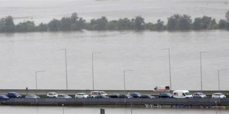 Inondations en République tchèque, 2.700 personnes évacuées